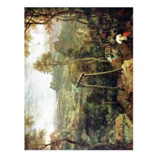 Summary Pieter Bruegel the Elder: The Magpie on th Postcard