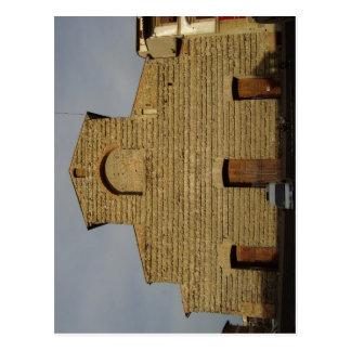 Summary San Lorenzo fa?ade, church in Florence Ita Postcard