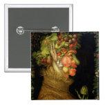 Summer, 1573 15 cm square badge