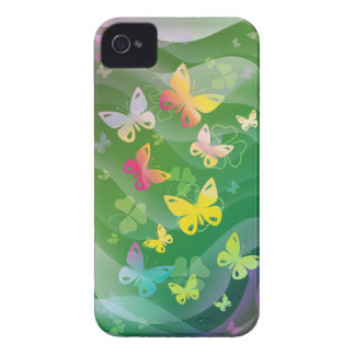 Summer and Butterflies iPhone 4 Cases
