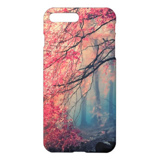 Summer and winter in the forest iPhone 7 plus case