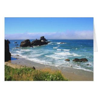Summer at Seal Rock Oregon Card