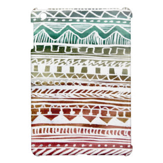 Summer Aztec Pattern iPad Mini Case