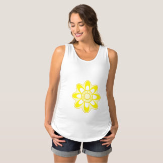 Summer Baby Sunflower Maternity Singlet