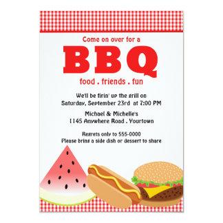 Summer Backyard BBQ Card