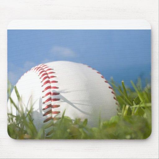 Summer Baseball Mouse Pad