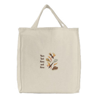 Summer BBQ Time Canvas Bags