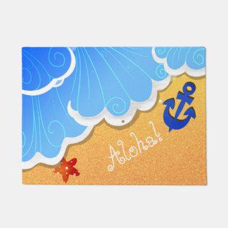 Summer Beach door mat