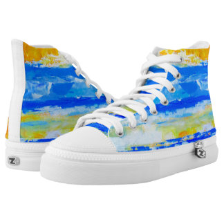 Summer Beach High Top Sneakers