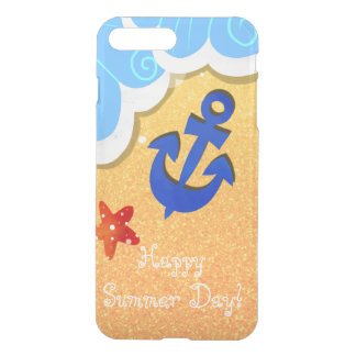 Summer Beach iPhone deflector case