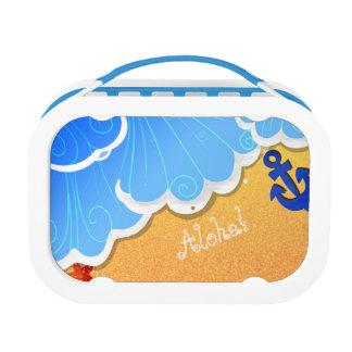 Summer Beach lunch box