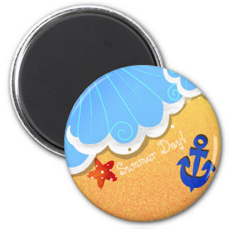 Summer Beach magnet