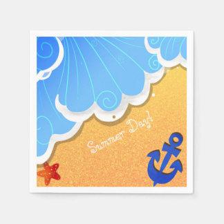 Summer Beach napkin Disposable Serviette