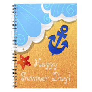 Summer Beach notebook