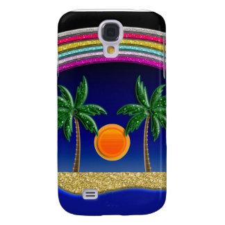 Summer Beach Paradise Samsung Galaxy S4 Cases