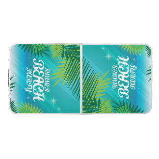 Summer Beach Party Beer Pong Table