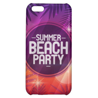 Summer Beach Party Night Cover For iPhone 5C