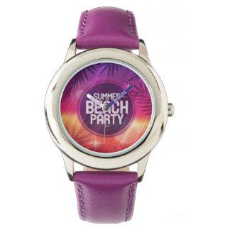 Summer Beach Party Night Wristwatches