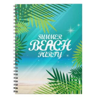 Summer Beach Party Notebooks