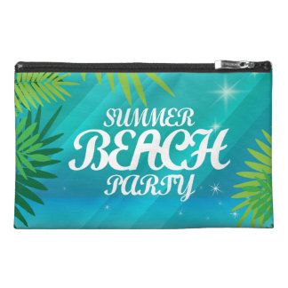 Summer Beach Party Travel Accessory Bags