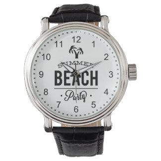 Summer Beach Party Watch