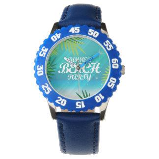 Summer Beach Party Wristwatch