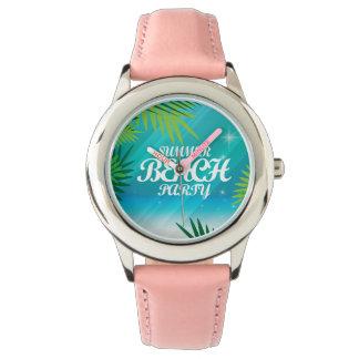 Summer Beach Party Wristwatches