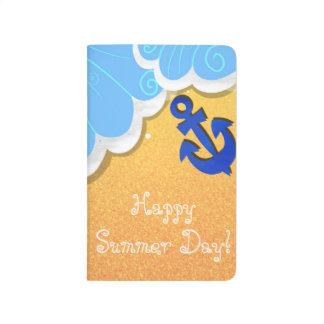 Summer Beach pocket journal