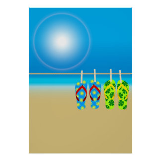 Summer Beach Print