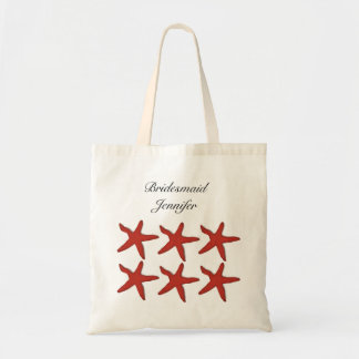 Summer Beach Starfish Shells Wedding Bridesmaid