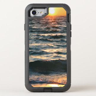 Summer Beach Sunset OtterBox Defender iPhone 8/7 Case