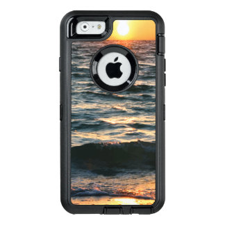 Summer Beach Sunset OtterBox Defender iPhone Case