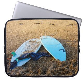 Summer Beach Surf Neoprene Laptop Sleeve 15 inch