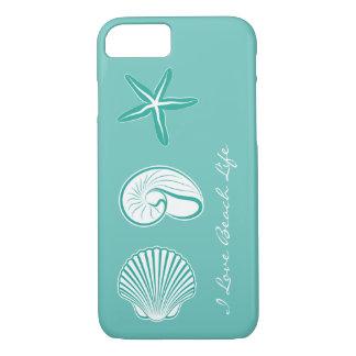 Summer Beach Theme iPhone 8/7 Case