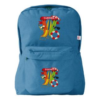 Summer Beach Watersports Backpack