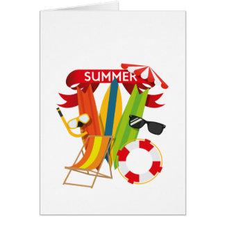 Summer Beach Watersports Card