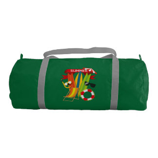 Summer Beach Watersports Gym Bag