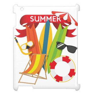 Summer Beach Watersports iPad Case