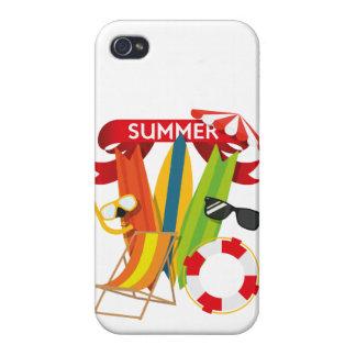 Summer Beach Watersports iPhone 4/4S Case