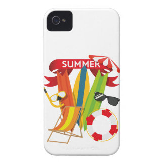 Summer Beach Watersports iPhone 4 Cover