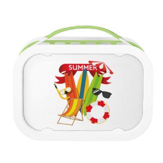 Summer Beach Watersports Lunch Box