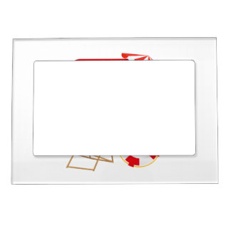 Summer Beach Watersports Magnetic Frame
