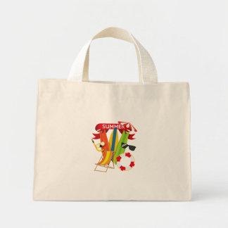 Summer Beach Watersports Mini Tote Bag