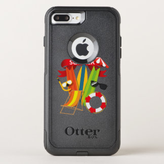 Summer Beach Watersports OtterBox Commuter iPhone 8 Plus/7 Plus Case