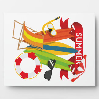 Summer Beach Watersports Plaque