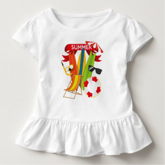 Summer Beach Watersports Toddler T-Shirt