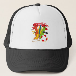Summer Beach Watersports Trucker Hat