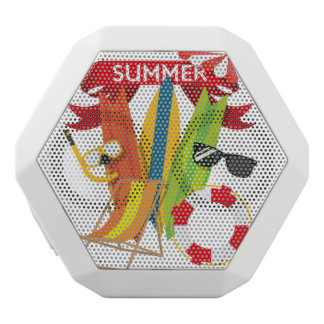 Summer Beach Watersports White Bluetooth Speaker