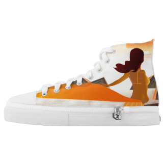 Summer Beauty High Tops