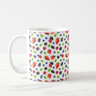 Summer berries coffee mug